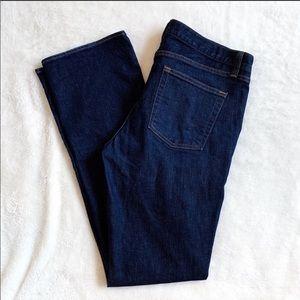 J. CREW Dark Wash Classic Bootcut Jeans Size 31